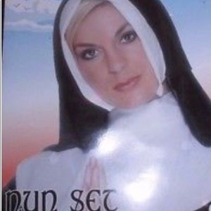 NUN COSTUME  🙏 With habit, and robe.